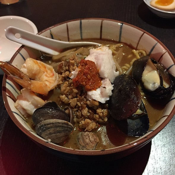 Spicy Seafood Triple Miso