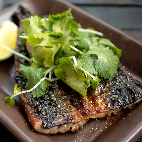 Smoked BBQ Eel