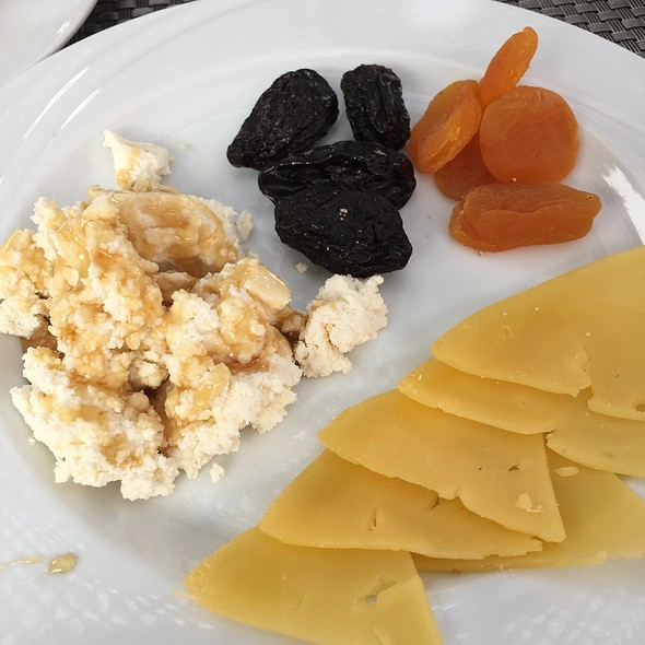 Cheese,  Honey And Dried Fruits