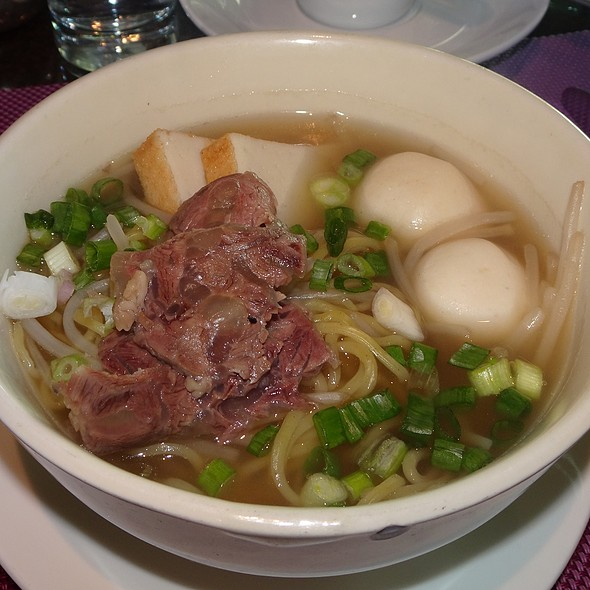 Taiwanese Beef Shin Noodle Soup