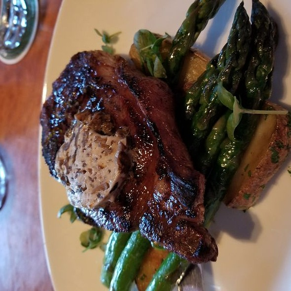 New York Steak With Porcini Butter