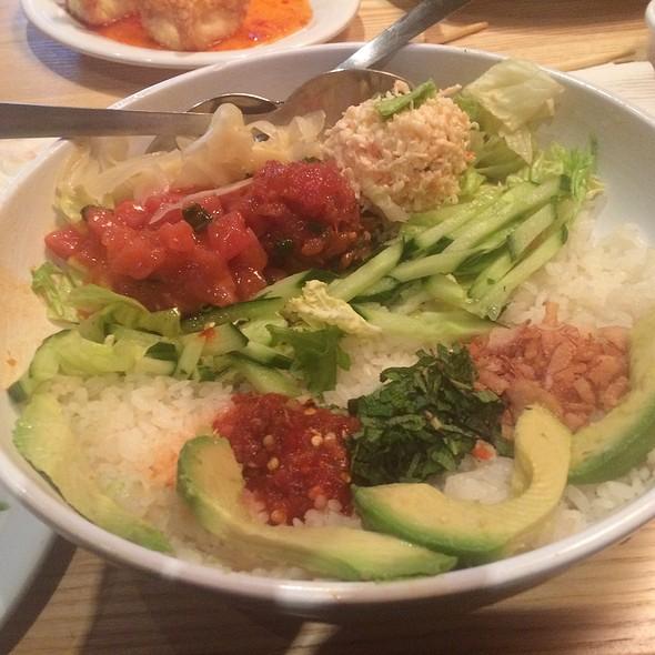 Hawaiian Poke Bowl @ Pei Wei Asian Diner
