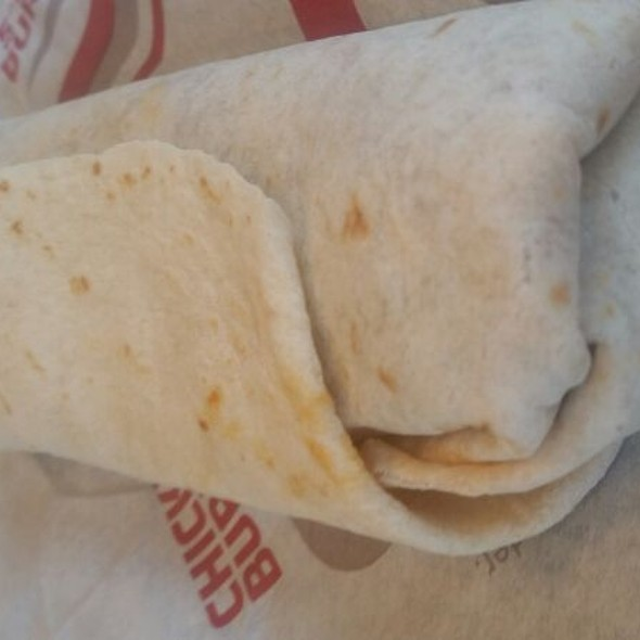 Beef, Been, & Cheese Burrito