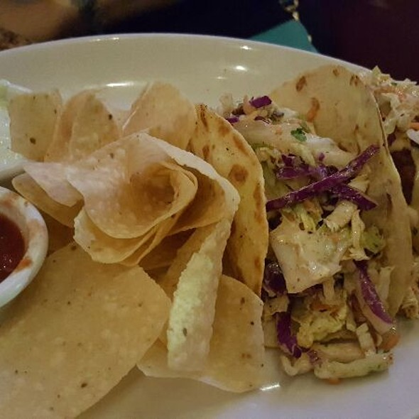 Mahi Mahi & Shrimp Tacos @ BJ's Restaurant & Brewhouse