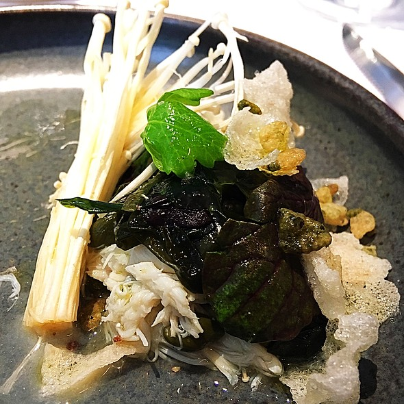 Seaweed And Crabmeat Salad