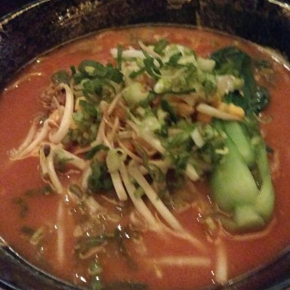 Ground Pork Miso Ramen