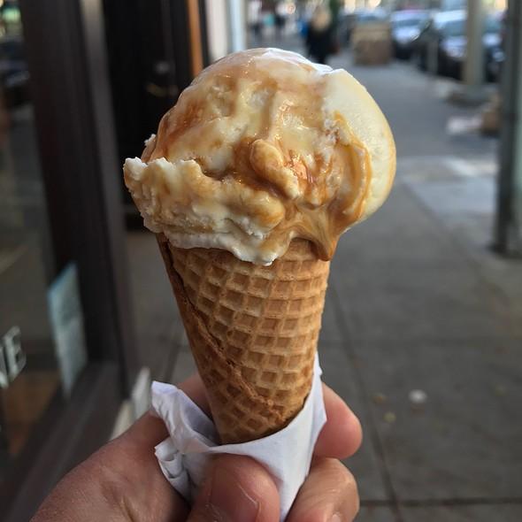 Sea Salt & Caramel Ribbons Ice Cream