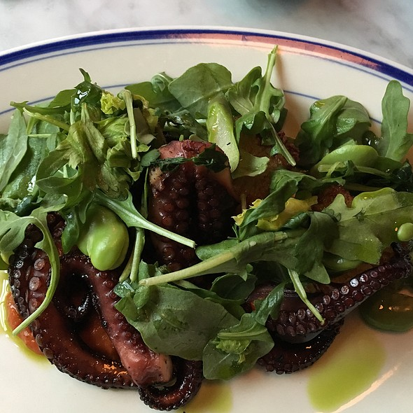 Grilled Octopus @ Cold Storage