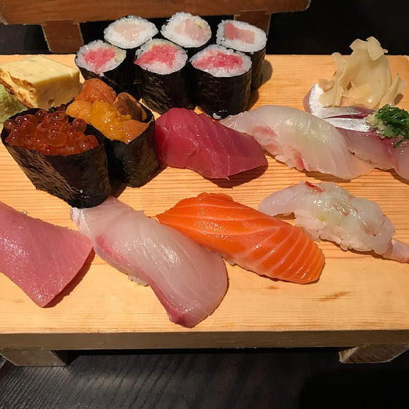 Assorted Sushi @ Mitch's Fish Market & Sushi Bar