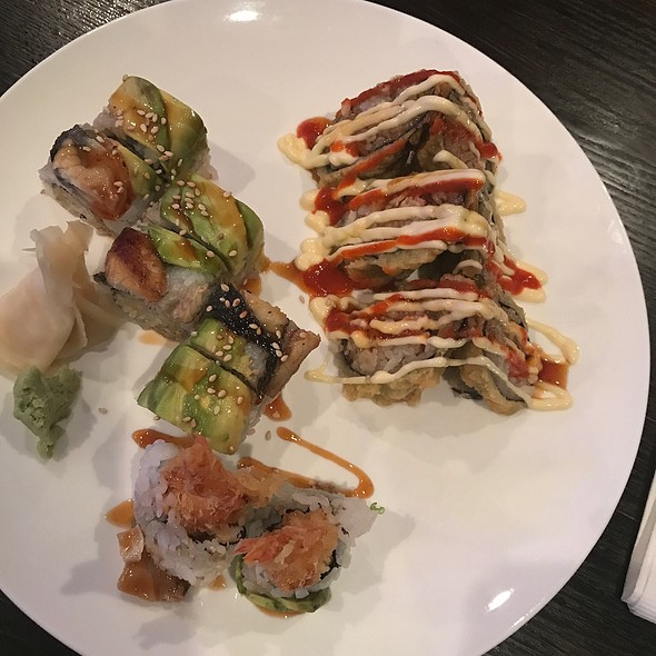 Best Friend Roll & Volcano Roll