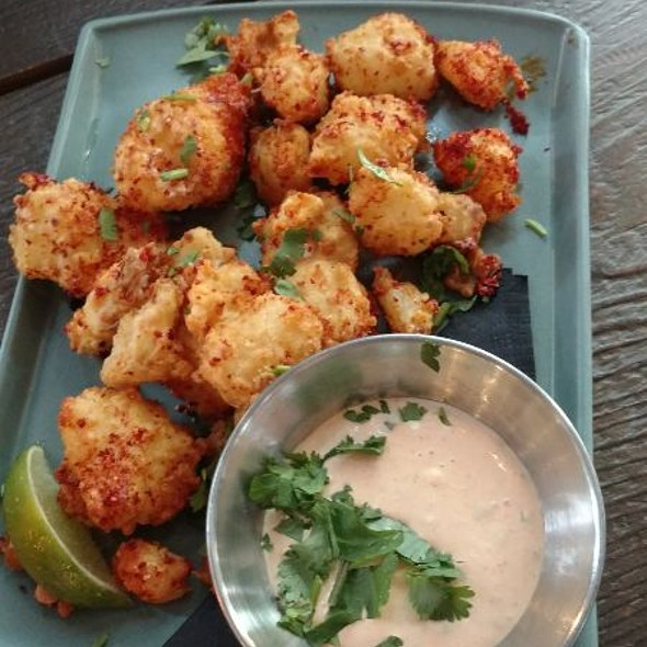 Fried Cheese Curds With Paprika Limeayo @ Lucille