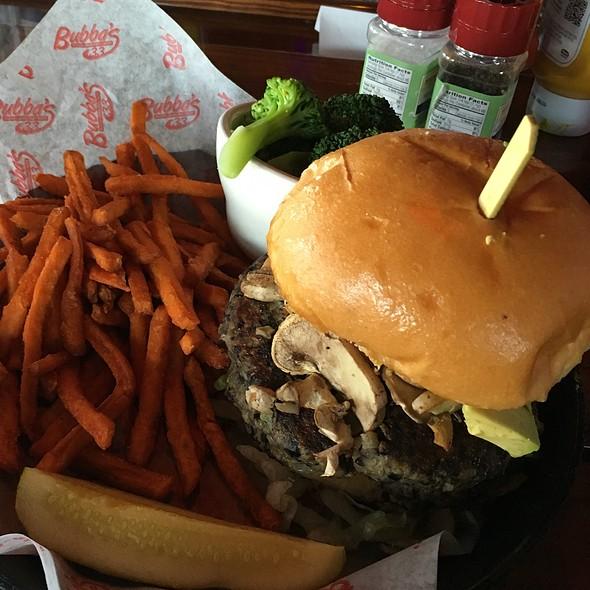Black Bean Burger @ Bubba's 33