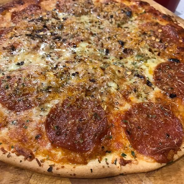 Pepperoni Pizza @ Chookys