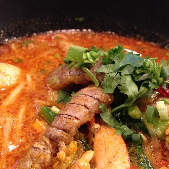 Mantis Shrimp Tomyam Noodle @ Noodle & Seafood Cafe