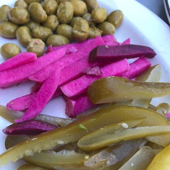 Pickles & Olives @ Taza Lebanese Grill Downtown