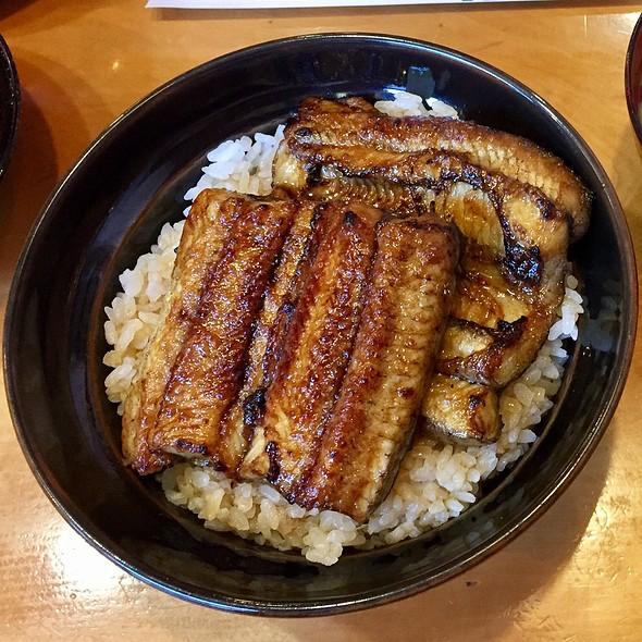 Tsubayaki Eel Ricebowl