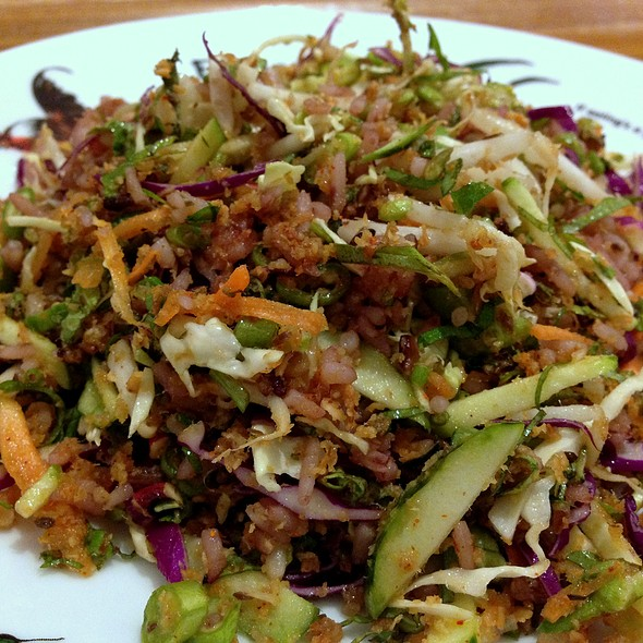 Khao Yam: Southern Thai Rice Salad @ Eathai @ Central Embassy