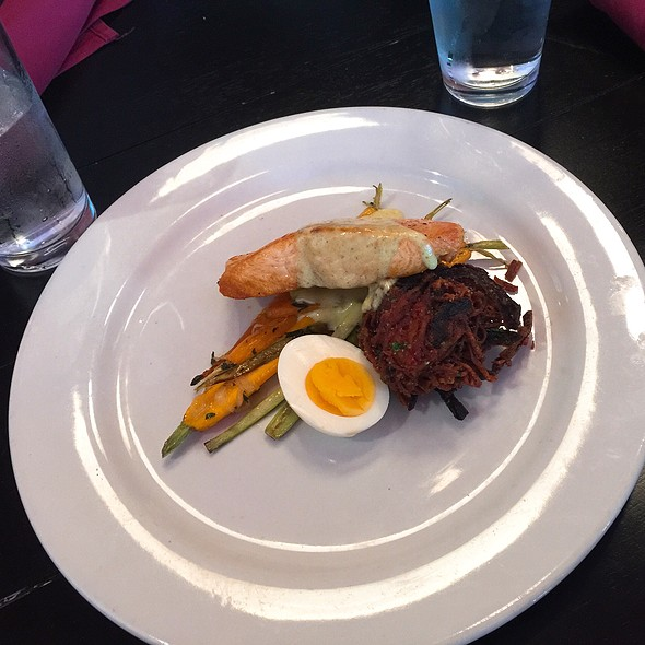 Seared Salmon @ Formoli's Restaurant