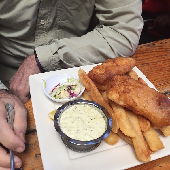 Fish and Chips @ Fibbar Magees