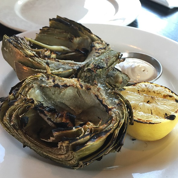 Grilled Artichokes @ The Q Restaurant and Bar
