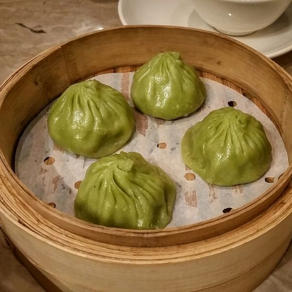 French Bean And Pork Xiao Long Bao @ Crystal Jade La Mian Xiao Long Bao