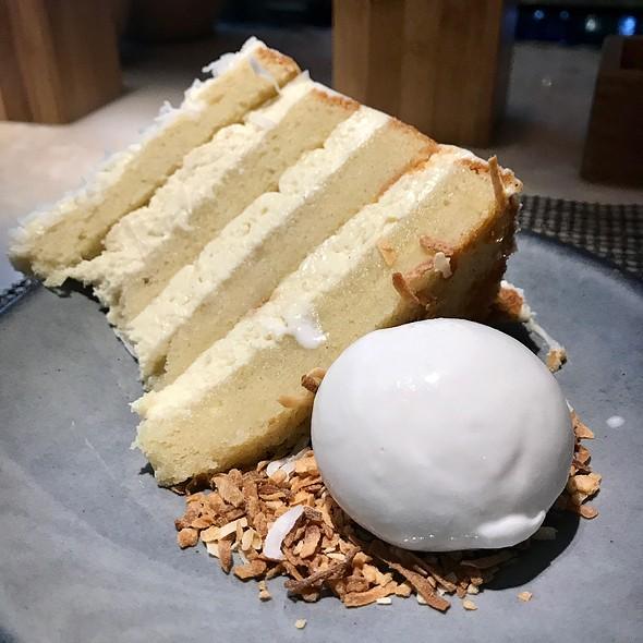Mom's Kyu Coconut Cake