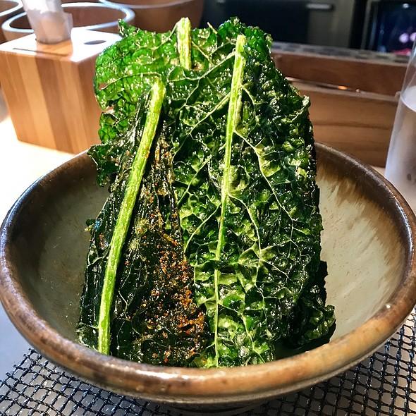 Crunchy Kale Nam Prik