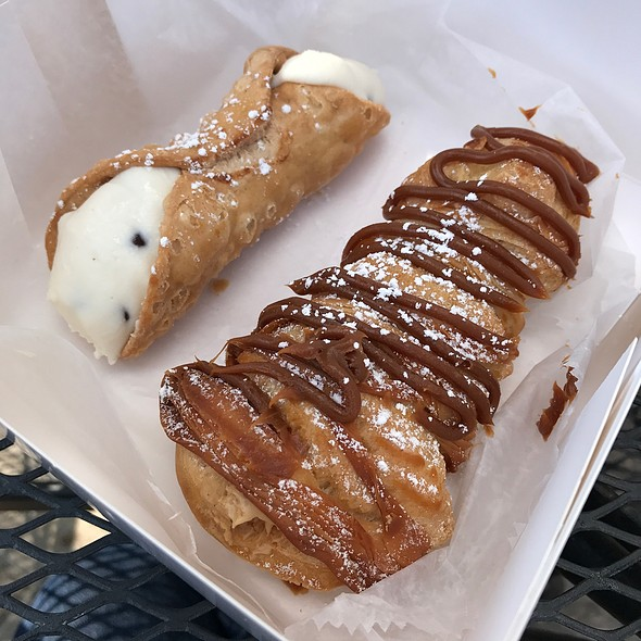 Cannoli & Salted Caramel Lobster Tail