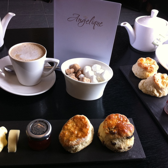 Clotted Cream Tea @ Angelique Restaurant