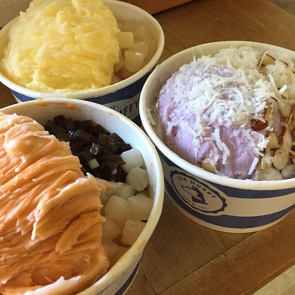 Nutty Taro Snow Ice @ Teaspoon