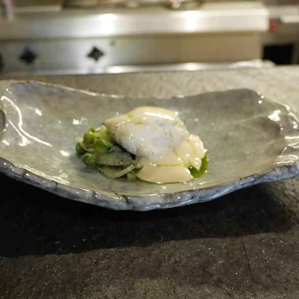 Gurnard, Fennel, Green Asparagus, Peas, Lemon Mayonnaise