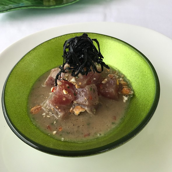 Ceviche Du Thono With Truffles
