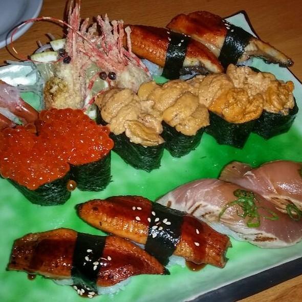 Assorted nigiri @ Hiro's Sushi Bar & Japanese Restaurant