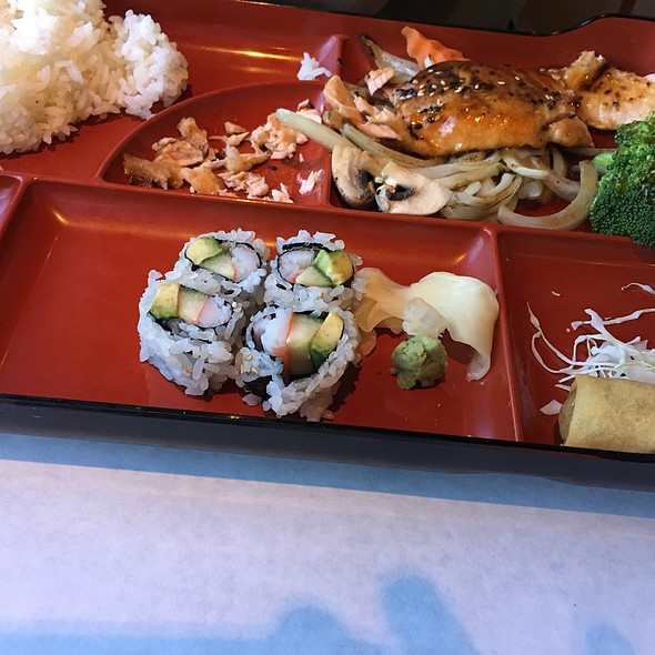 Salmon Teriyaki @ Ootoya Sushi