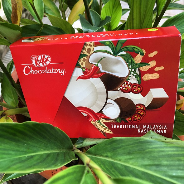 TRADITIONAL MALAYSIA NASI LEMAK KITKAT®  @ Nestle KitKat Chocolatory STORE