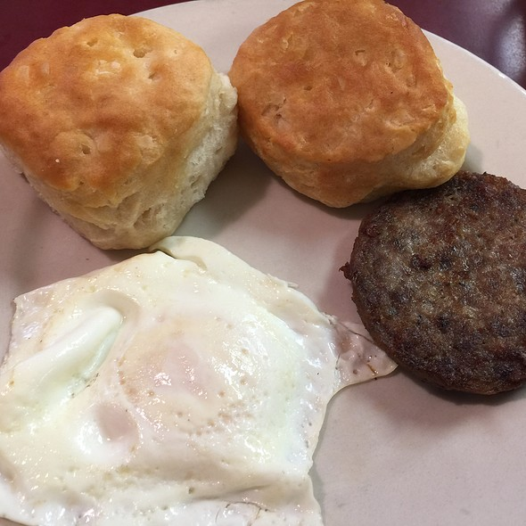 One Egg, Sausage Patty & Biscuits