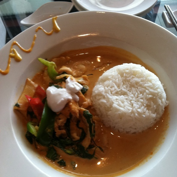 Red Curry with Chicken @ Shaba-Shabu Thai Japanese