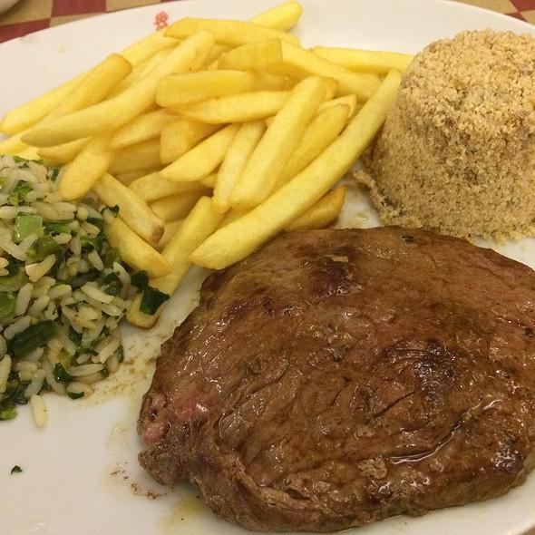 Contra-Filet Com Fritas @ Rei dos Galetos