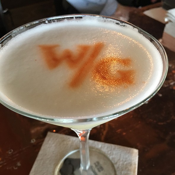 Pisco Sour @ Water Grill