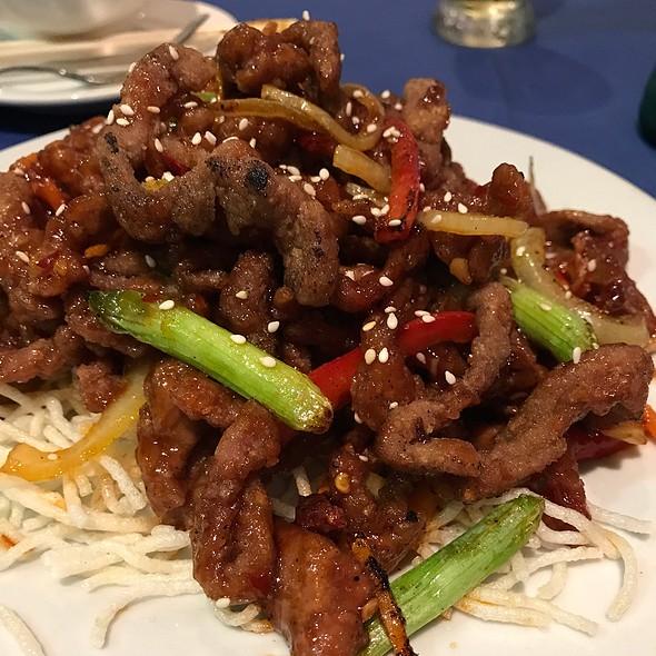 Peking Style Shredded Chilli Beef