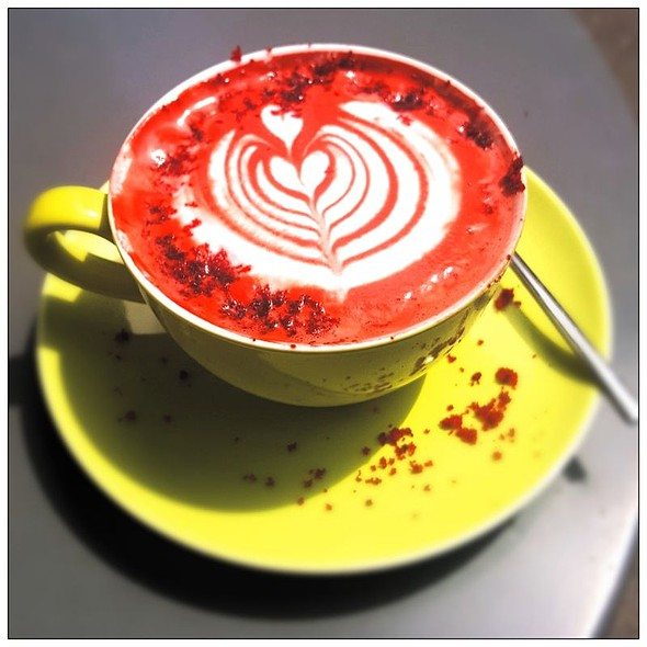 Red Valvet Latte  @ Filbooks