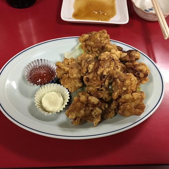 鳥唐揚げ @ 中華料理 海道