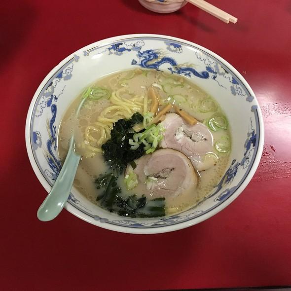 とんこつラーメン @ 中華料理 海道