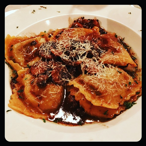 Porcini Mushroom Ravioli With Marsala @ Mamma Onesta's Italian Restaurant
