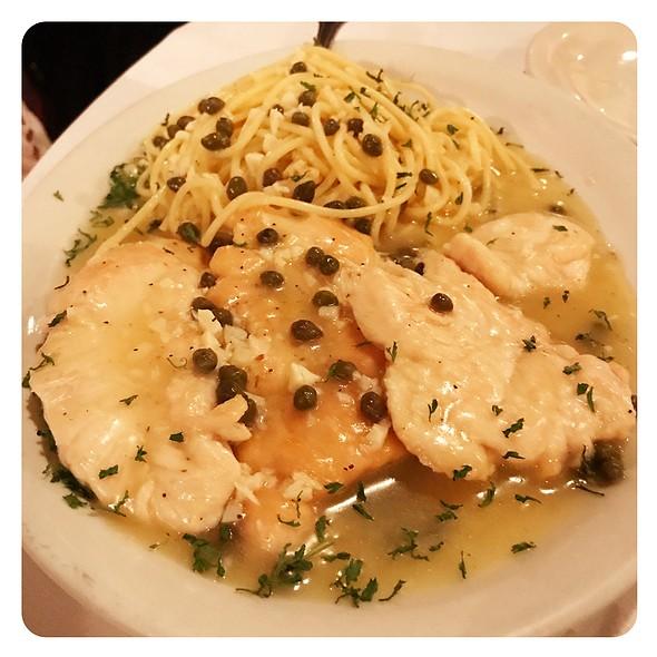 Chicken Piccata @ Mamma Onesta's Italian Restaurant