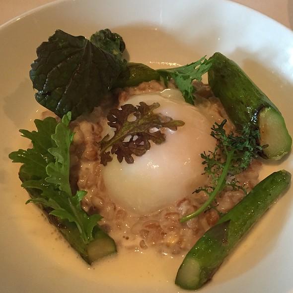 Farro & Poached Egg & Asparagus