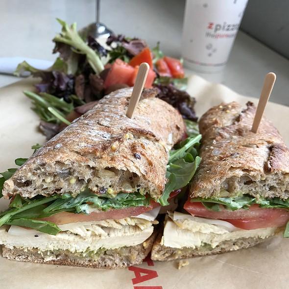 Chicken Pesto Sandwich @ Zcafe