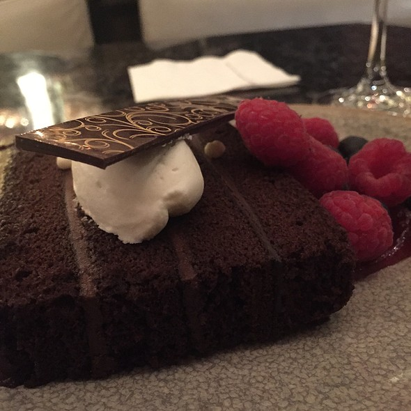 Chocolate torte @ Orchids at Palm Court