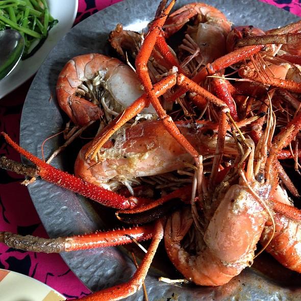 Grilled Prawn @ Kung Ob Phu Kow Fai