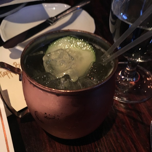 Cucumber Vodka Mule